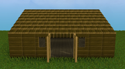 Basic wood house
