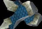 Blessed dragonhide vambraces (Armadyl) detail