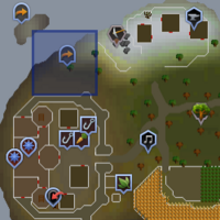 Fairy ring CIP location