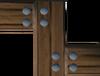 Mahogany catapult part (10) detail
