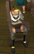 Patron (sitting)
