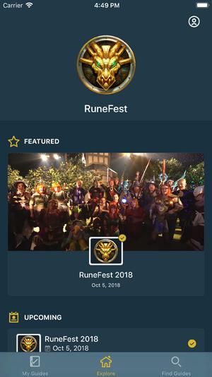 RuneFest App news image