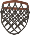 Seaweed net (empty) detail