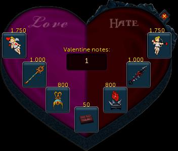 Send Valentine love note