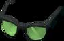 Sunglasses (green) detail