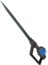Augmented off-hand chaotic rapier detail