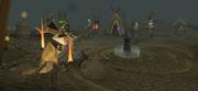 Bandosian warlord special attack