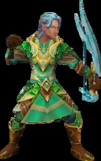 Cadarn ranger (non-interactive) (male)