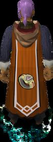 Capa de Dungeon mestre equipado