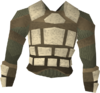 Corrupt Morrigan's leather body detail