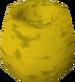 Golden pot detail