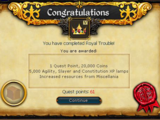 Royal Trouble/Quick guide