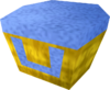 Villager hat (yellow) detail
