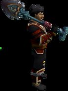 Beach Shovel Sword (2h) equipped