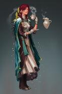 Lady Niya concept art
