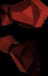 Manoplas dragônicas detalhe