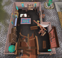 Ostentatious shipwright