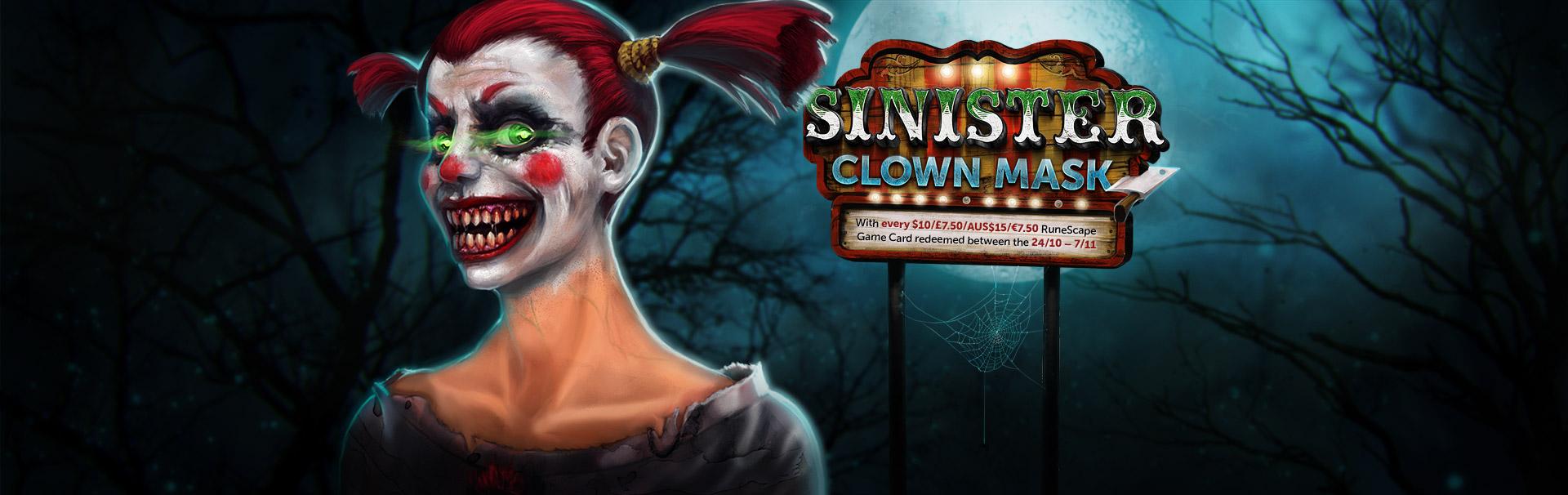 Image - Sinister Clown Mask banner.jpg | RuneScape Wiki | FANDOM ...