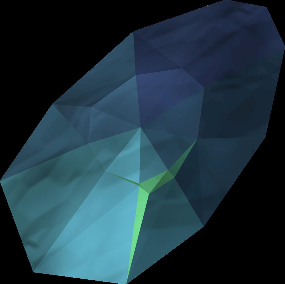Cleansing crystal detail