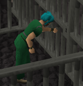 Destrancando fechadura