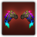 Gemstone wings icon