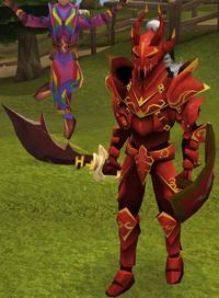 Mercenary warrior