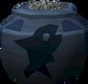 Plain fishing urn (full) detail