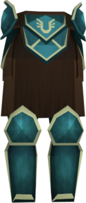Rune plateskirt (Armadyl) detail