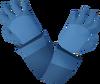 Runecrafter gloves (blue) detail