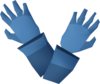 Runecrafter gloves (blue) detail