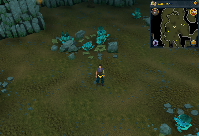 File:Scan clue Brimhaven Dungeon lower level in the centre of the Moss Giants chamber.png