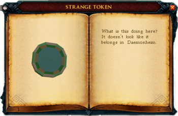 Strange token interface