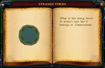 Strange token interface