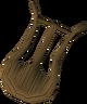 Unstrung lyre detail