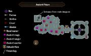 Ancient Prison map