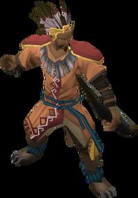 Armadylean bodyguard (ranged)