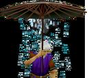 Bad weather umbrella