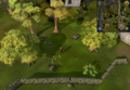 Compass clue Edgeville north-west of Cook's Guild.png