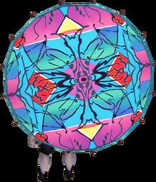 Hawai'i parasol equipped