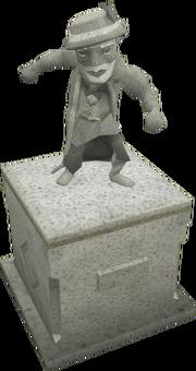 Hazelmere statue