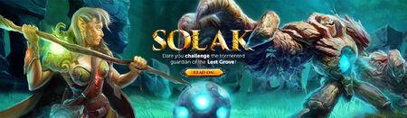 Solak head banner