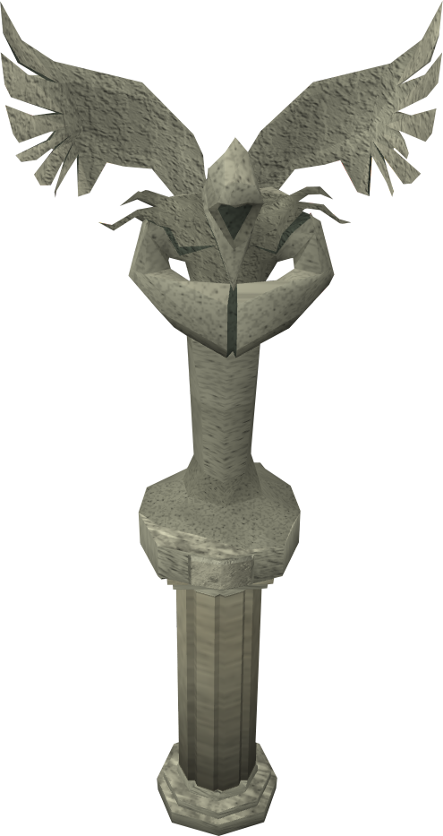 Stone angel detail