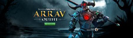 Arrav outfit head banner