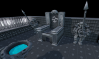 Bandos's throne