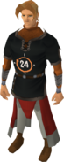 GameBlast 2014 Tunic equipped