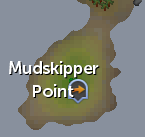 Mudskipper Point map
