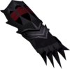 Off-hand black claw detail