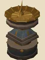 Ornate sundial