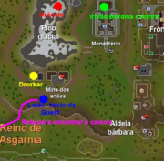 Os Perigos do Pico Placial mapa 1