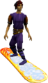 Snowboard (2017, white) equipped.png